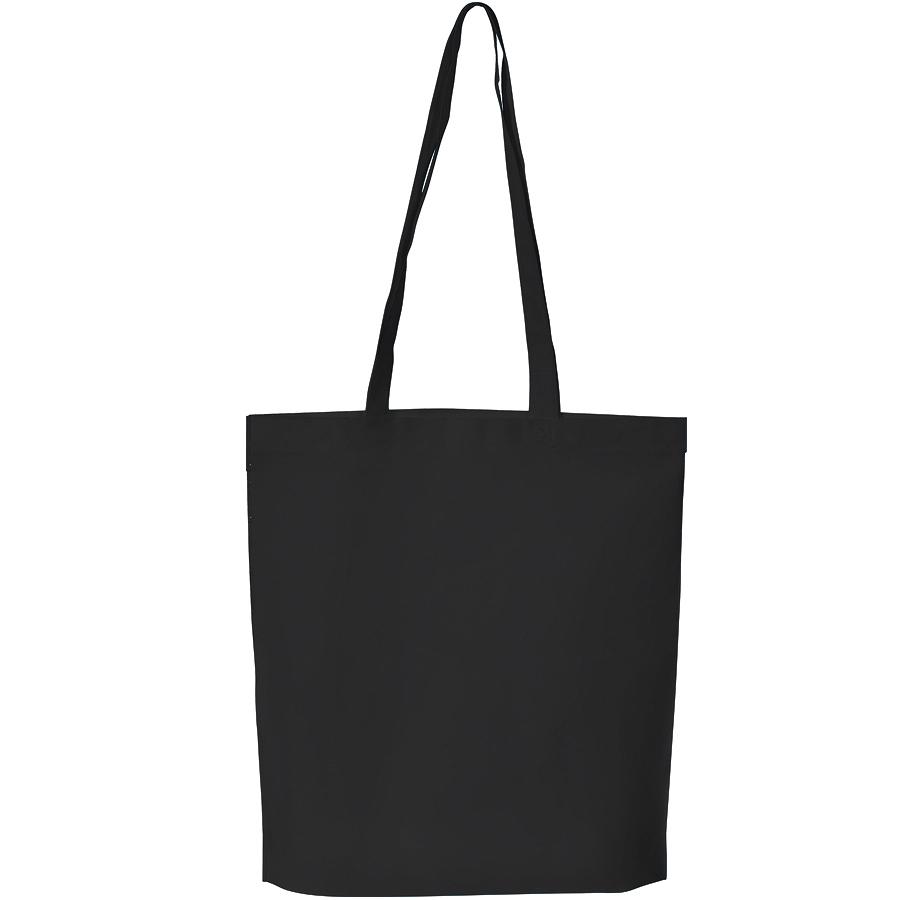 """Сумка для покупок """"PROMO"""";  черный; 38 x 45 x 8,5 см;  нетканый 80г/м2"""