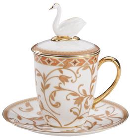 Набор Swan с терракотовым орнаментом