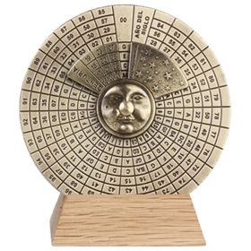 Вечный календарь Perpetuo в бордовой коробке