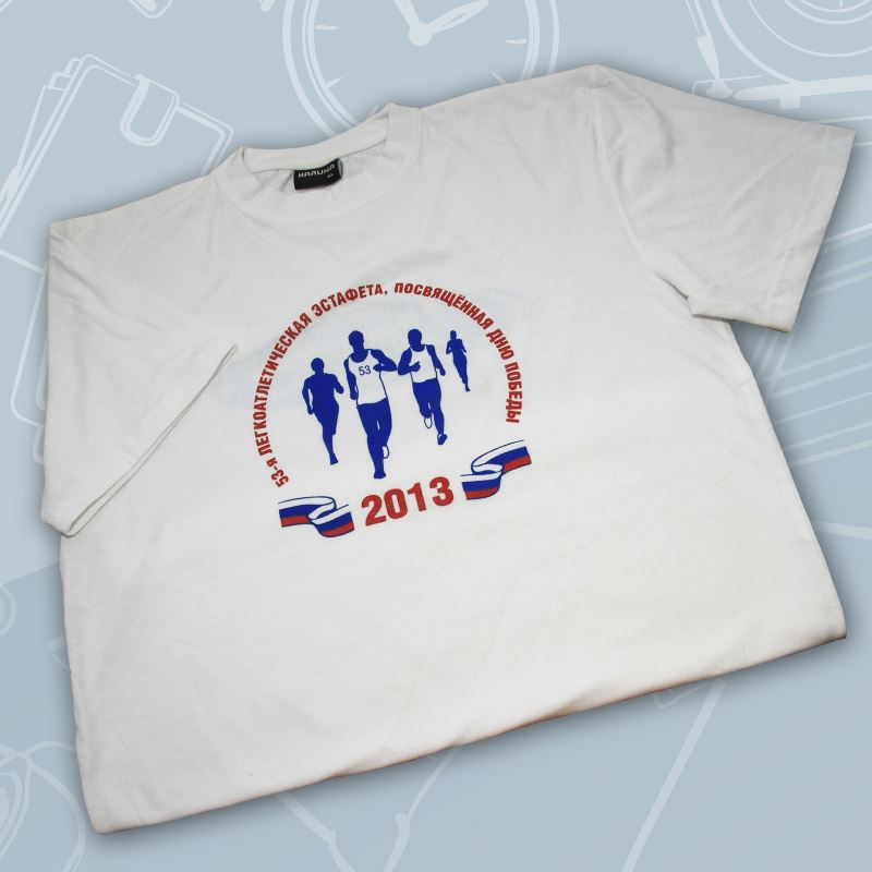 Нанести логотипы на футболки
